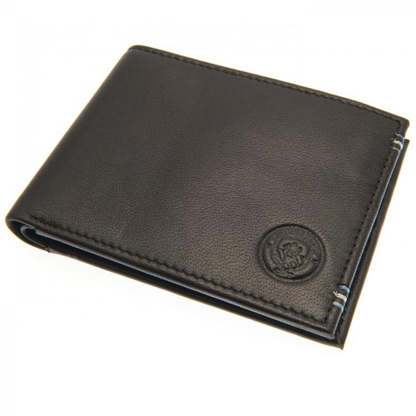 Manchester City F.C. Leather Stitched Wallet