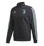 2019-2020 Juventus Adidas EU Presentation Jacket (Dark Grey)