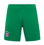 2019-2020 Bayern Munich Adidas Home Goalkeeper Shorts (Green) - Kids