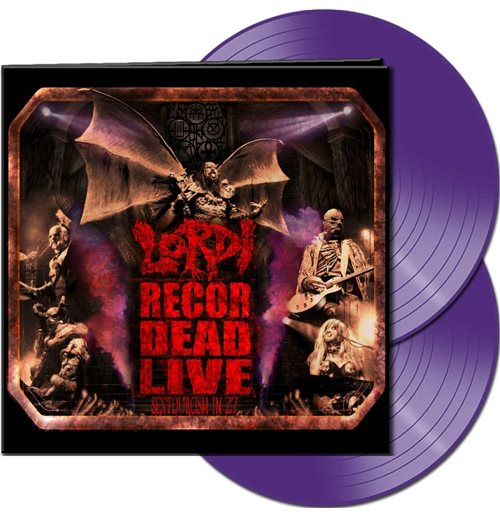 Vynil Lordi - Recordead Live - Sextourcism In Z7 (Purple Vinyl)