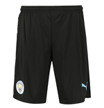 2019-2020 Manchester City Puma Pro Training Pants with Pockets (Asphalt)