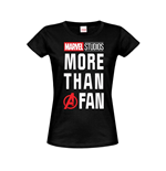 Marvel Ladies T-Shirt More than a Fan