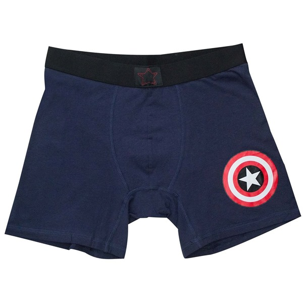 Captain America Classic Men's Underwear Boxer Briefs