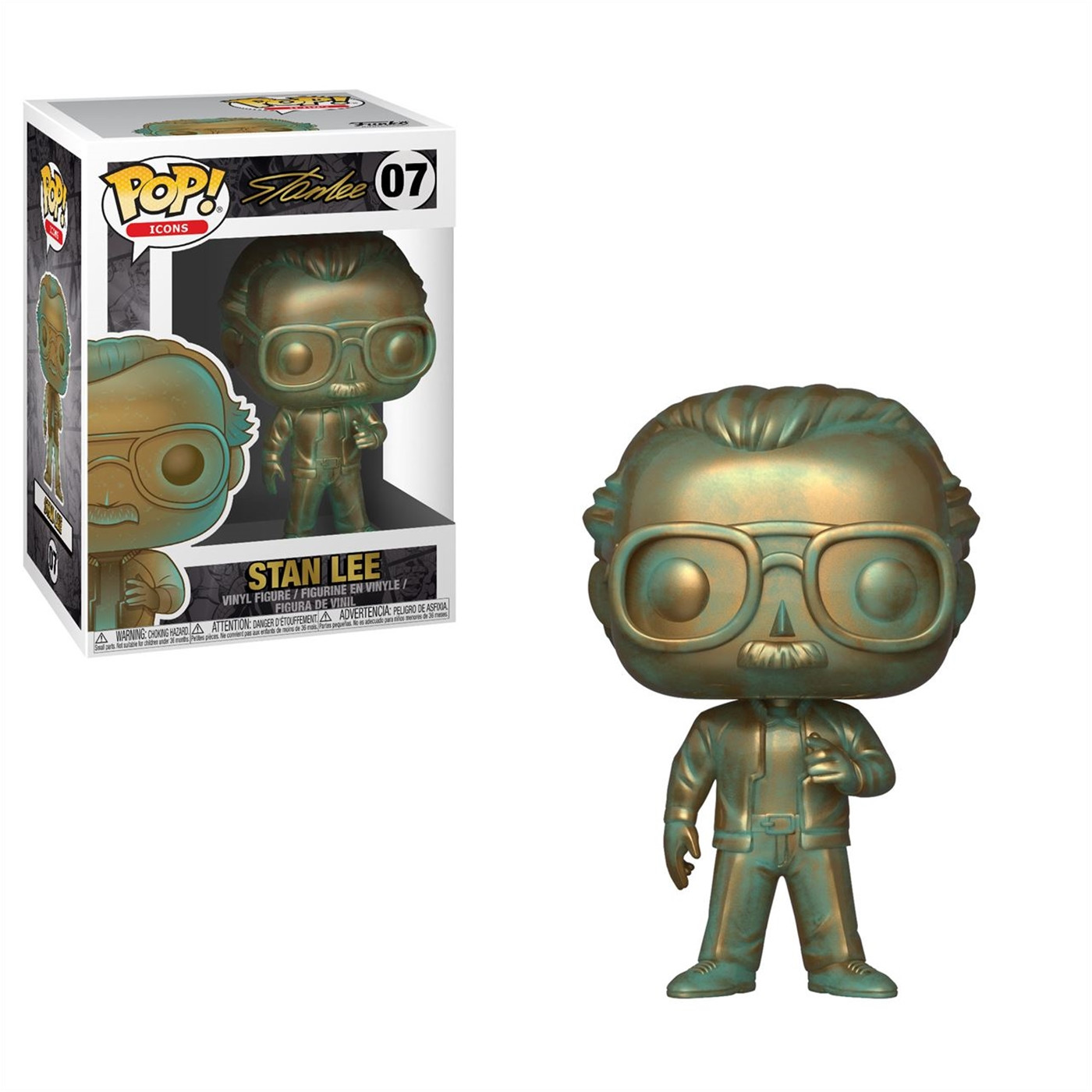 Pop!: Stan Lee (Patina)