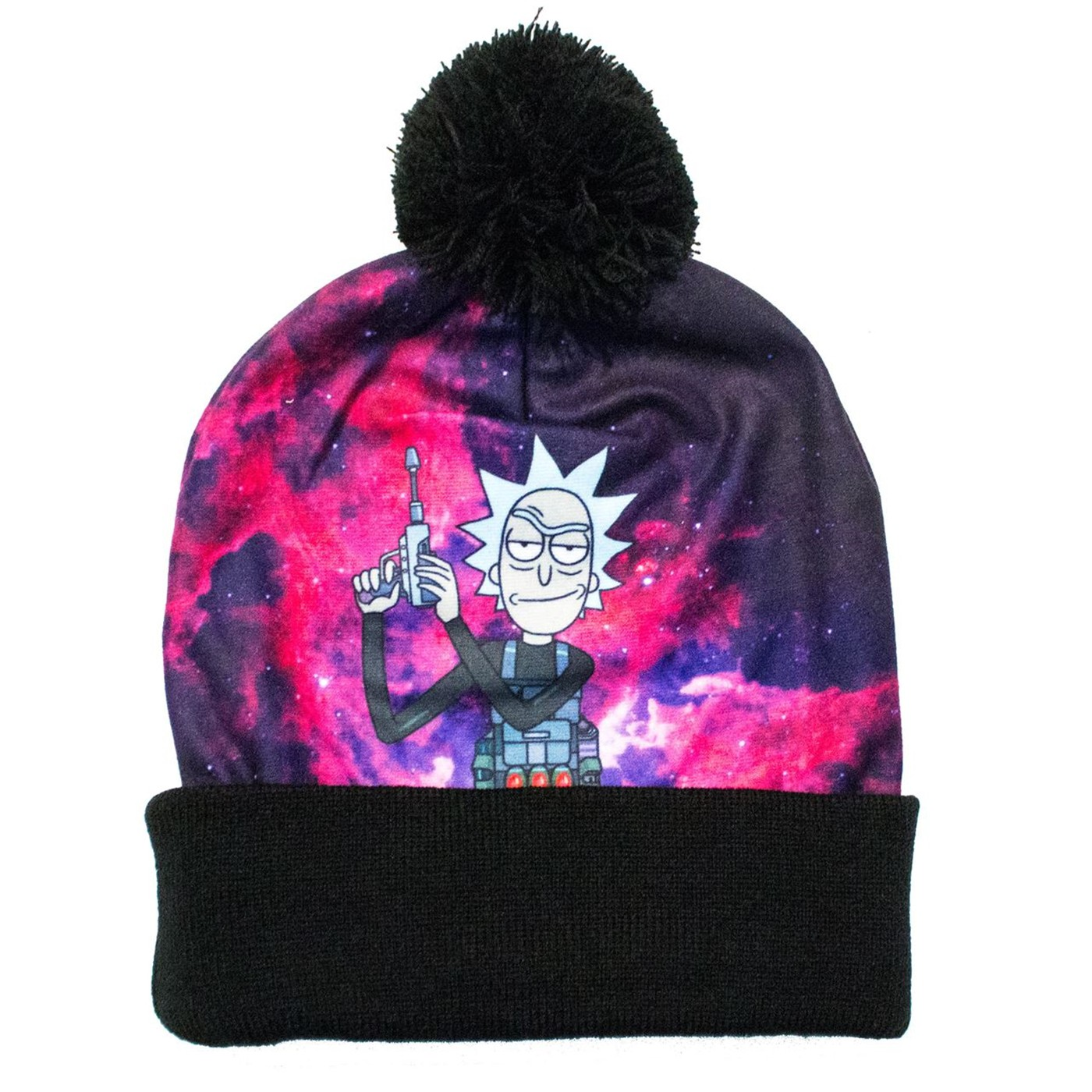 Ricky and Morty Pom Beanie