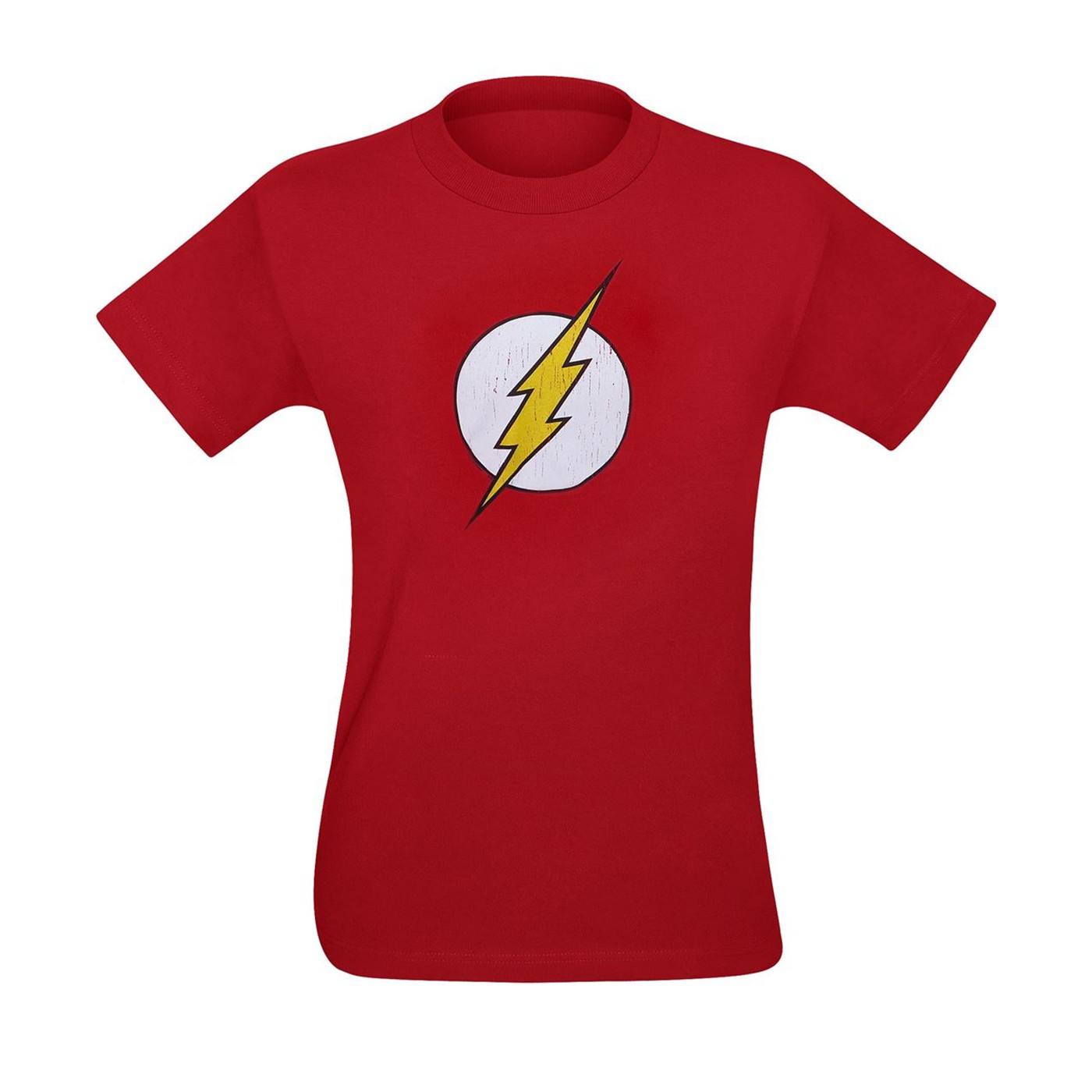 Flash Distressed Small Symbol Kids T-Shirt