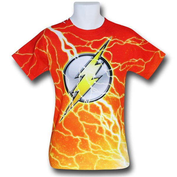 Flash Lightning Symbol Sublimated T-Shirt