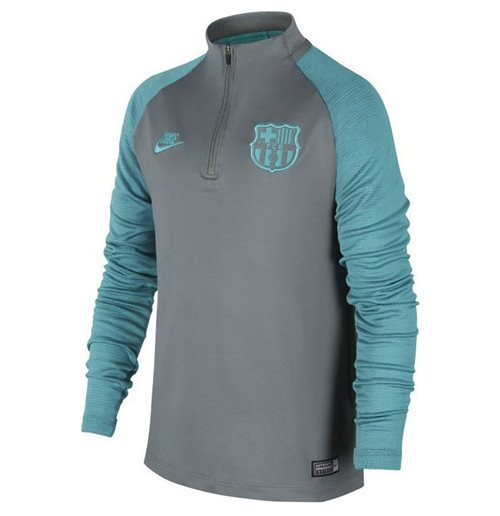 2019-2020 Barcelona Nike Drill Training Top (Cool Grey) - Kids