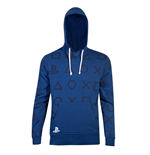 Sony PlayStation Hooded Sweater AOP Icons