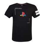 SONY Playstation Tech19 T-Shirt, Male, Small, Black