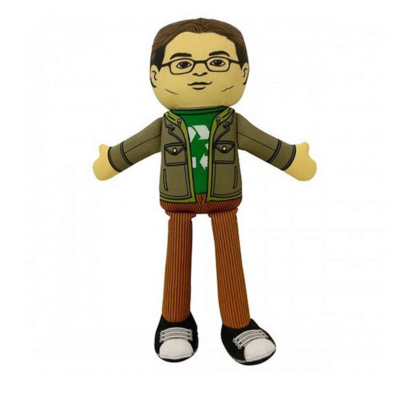 Big Bang Theory Leonard Plush
