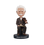 Albert Einstein Violin Bobblehead Headknocker