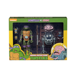 Tmnt Cartoon Donatello Vs Krang Bw 2pk Action Figure