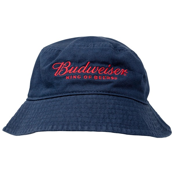 Budweiser Beer Grey Bucket Hat