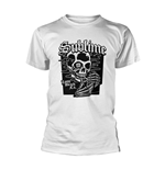 Sublime T-Shirt Black Skull