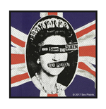 Sex Pistols Patch God Save The Queen (PACKAGED)
