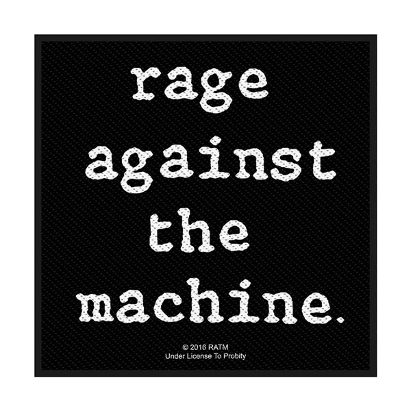 Rage Against The Machine Patch Logo