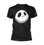 The Nightmare Before Christmas T-Shirt Cracked Face Solid