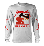 Metallica Long Sleeves T-Shirt Kill Em All (WHITE)