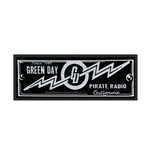 Green Day Patch Pirate Radio