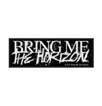 Bring Me The Horizon Patch Horror Logo