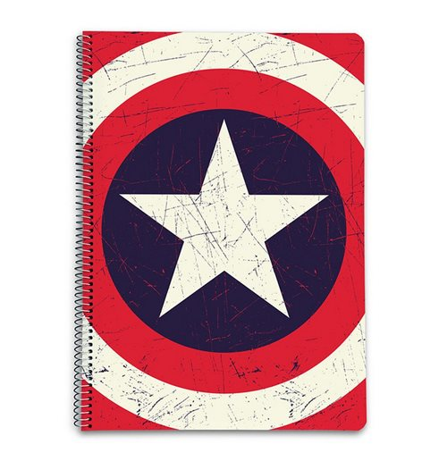 Captain America Notepad 370458