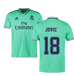 2019-2020 Real Madrid Adidas Third Shirt (Kids) (Jovic 18)
