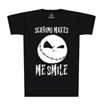 Nightmare Before Christmas T-Shirt Scaring Makes Me Smile