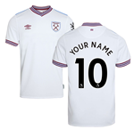 2019-20 West Ham Away Shirt - Kids (Your Name)
