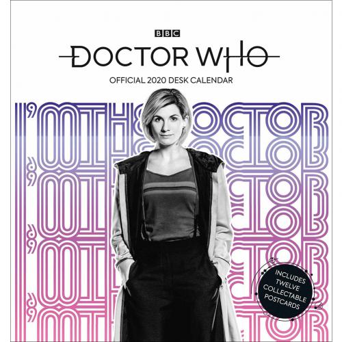 Doctor Who Desktop Calendar 2020
