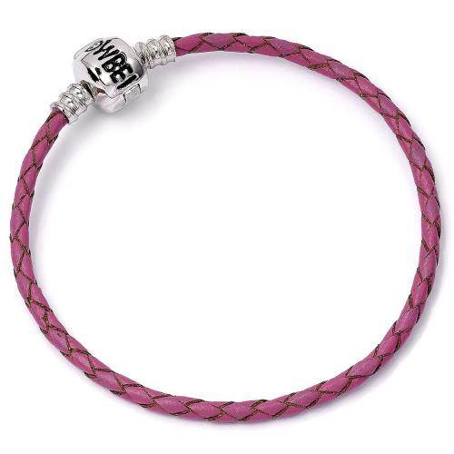 Harry Potter Leather Charm Bracelet Pink XS