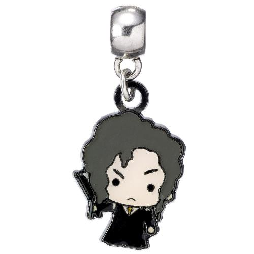 Harry Potter Silver Plated Charm Chibi Bellatrix LeStrange