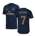 2019-2020 Real Madrid Adidas Away Football Shirt (Hazard 7)