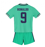 2019-2020 Real Madrid Adidas Third Mini Kit (RONALDO 9)