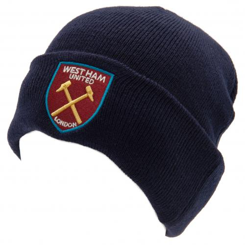 West Ham United FC Knitted Hat TU