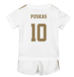 2019-2020 Real Madrid Adidas Home Baby Kit (PUSKAS 10)