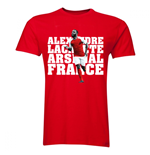Alexandre Lacazette Arsenal Player T-Shirt (Red)
