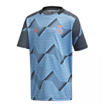 2019-2020 Real Madrid Adidas Pre-Match Training Shirt (Blue) - Kids