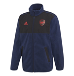 2019-2020 Arsenal Adidas Seasonal Special Fleece Jacket (Navy)