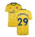 2019-2020 Arsenal Adidas Away Football Shirt (Kids) (GUENDOUZI 29)