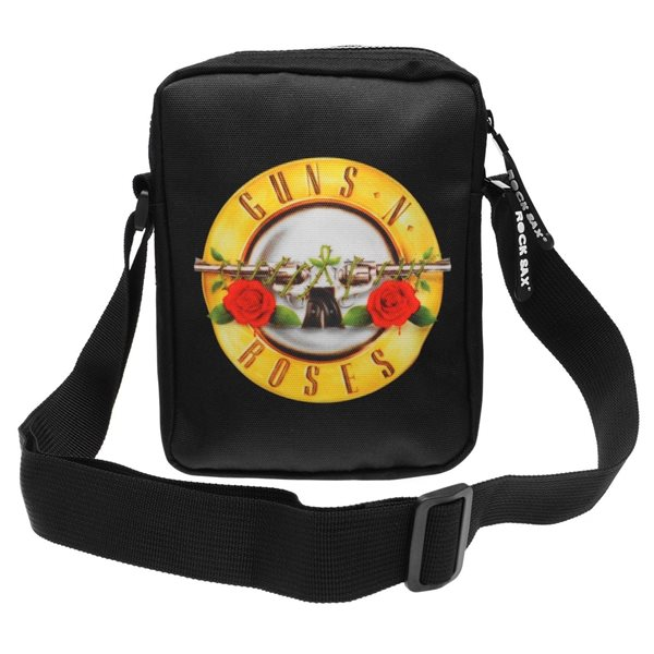 Guns N' Roses Bag Roses Logo (cross Body BAG)
