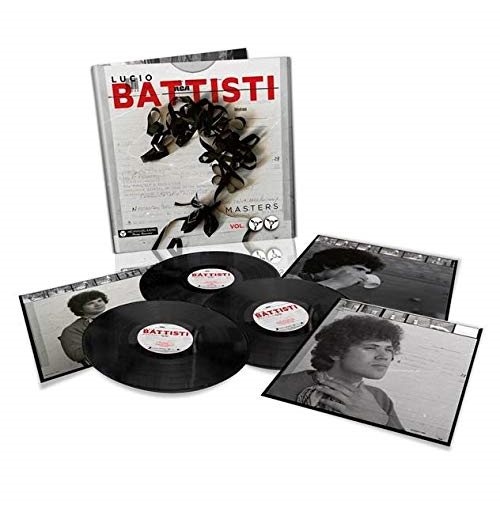 Vynil Lucio Battisti - Masters Vol.2 Remastered 192Khz/24Bit (3 Lp)