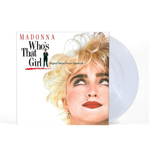 Vynil Madonna - Who's That Girl (Crystal Clear) (Black Friday 2019)