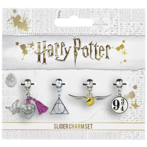 Harry Potter Silver Plated Charm Set
