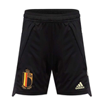 2020-2021 Belgium Adidas Training Shorts (Black) - Kids