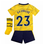 2019-2020 Arsenal Adidas Away Little Boys Mini Kit (David Luiz 23)