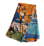 ADVENTURE TIME Characters All-over Print Fashion Scarf, Unisex, Multi-colour