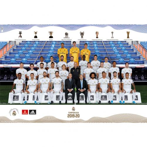 Real Madrid FC Poster Squad 22