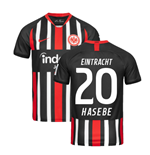 2019-2020 Eintracht Frankfurt Home Nike Football Shirt (HASEBE 20)