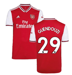 2019-2020 Arsenal Adidas Home Football Shirt (GUENDOUZI 29)